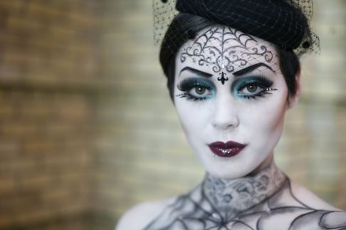 make-up-halloween-stile-gotico