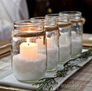 candele natalizie fai da te 1