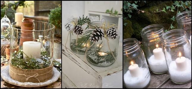 candele natalizie fai da te5