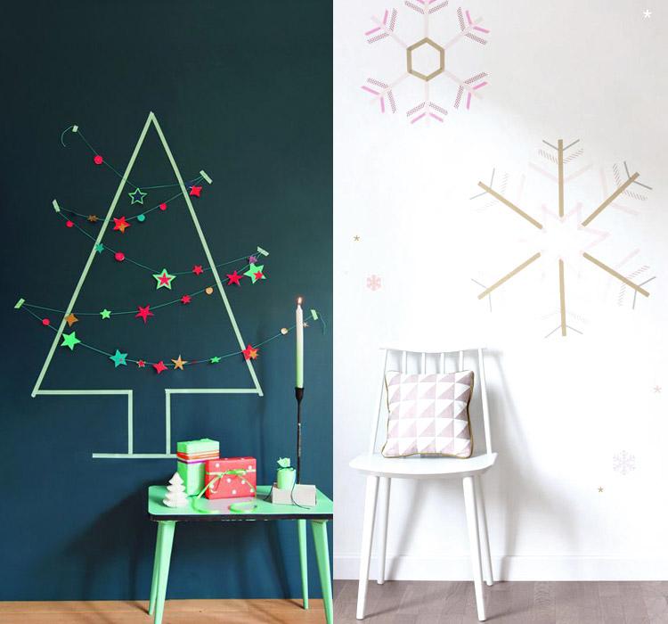 decorazioni-washi-tape-Natale
